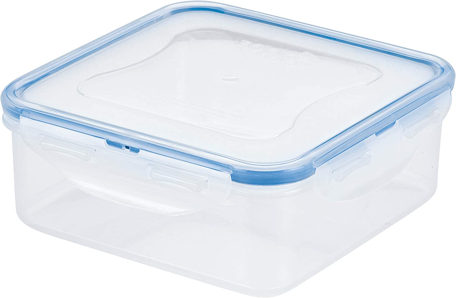 LOCK & LOCK Easy Essentials Food Storage lids/Airtight containers, BPA Free, Square-29 oz-for Veggies, Clear