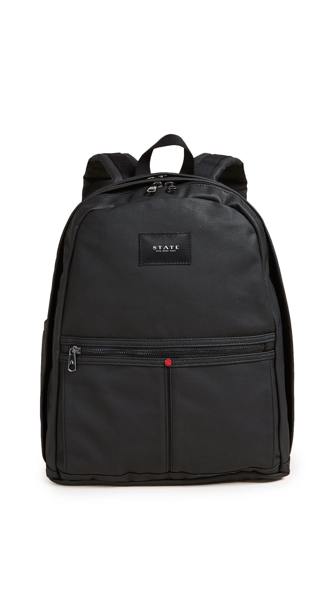 STATE Women's Kent Backpack, Black, One Size by STATE Bags
