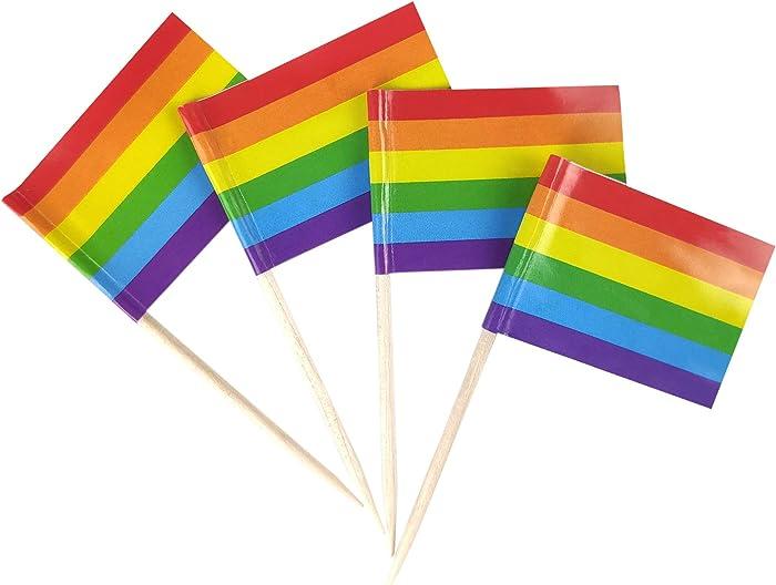Top 10 Gay Pride Flags For Food
