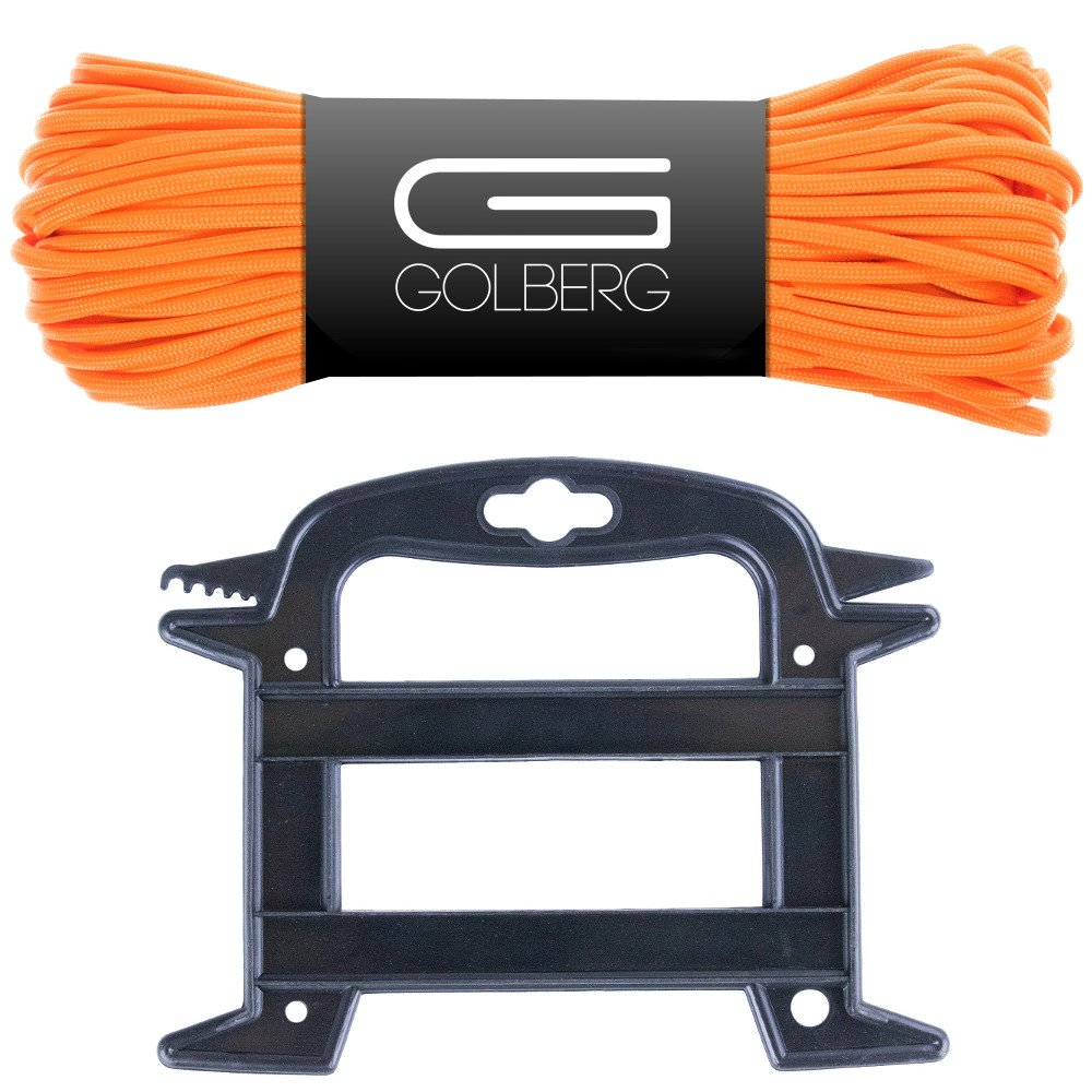 GOLBERG 850 Paracord - Stronger than 550 and 750 - Made in the USA by Certified Government Contractors