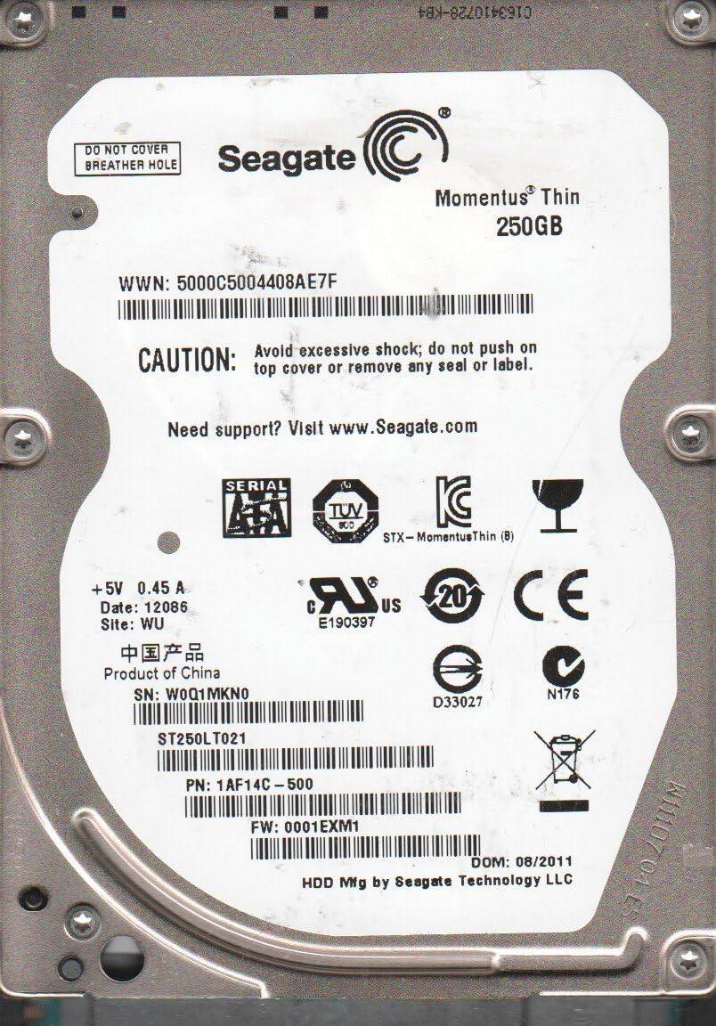 ST250LT021 Seagate Momentus ST250LT021 250 GB Internal Hard Drive