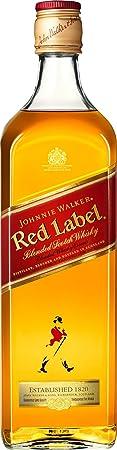 Johnnie Walker Red Label Scotch Whisky (1 x 1 l)