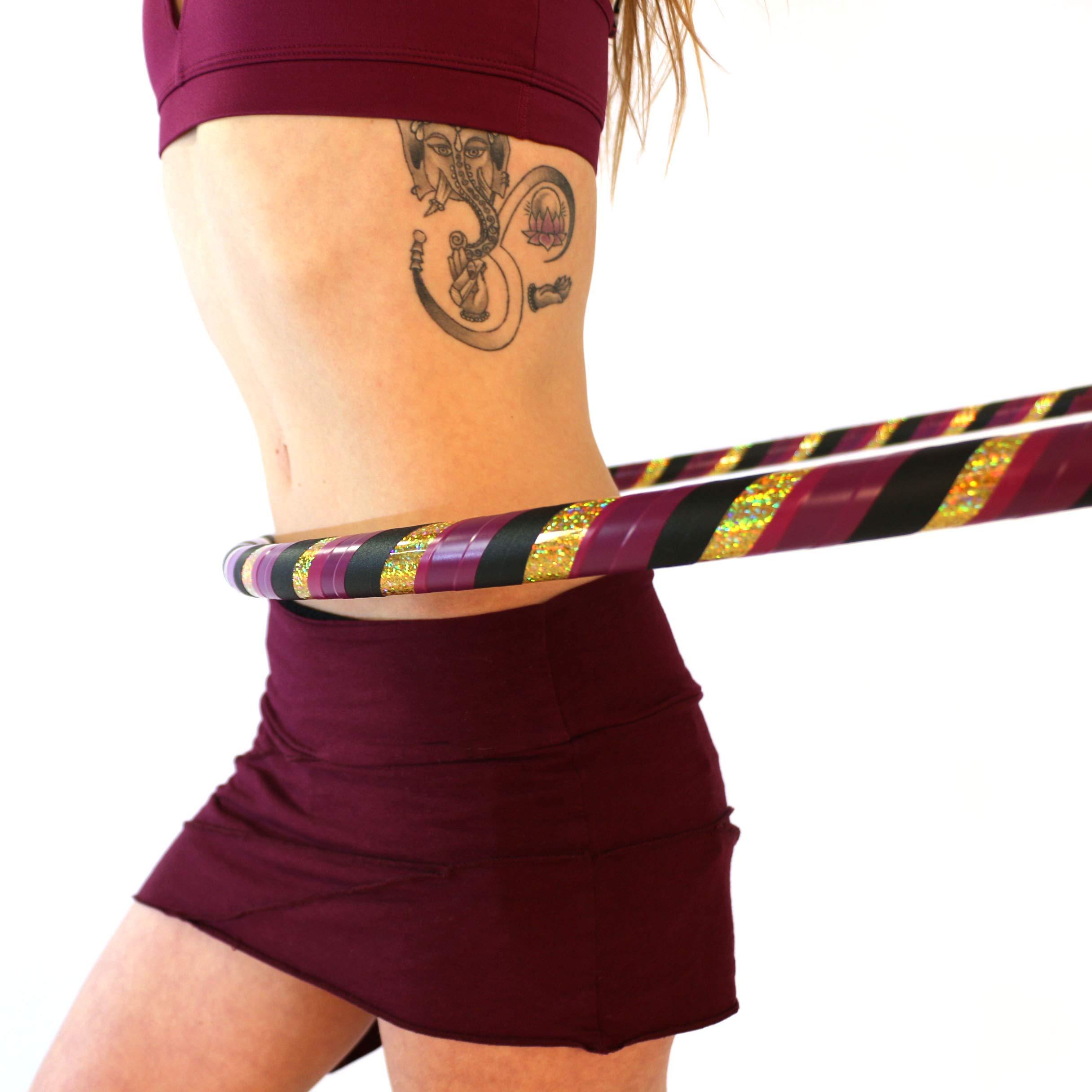 Adult Beginner Hula Hoop (All That Glitters, Large - 40'' Diameter)