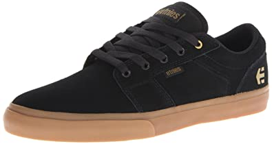 Etnies Barge Low-Top, Men's Skateboarding Shoes,Black (BLACK/GUM -