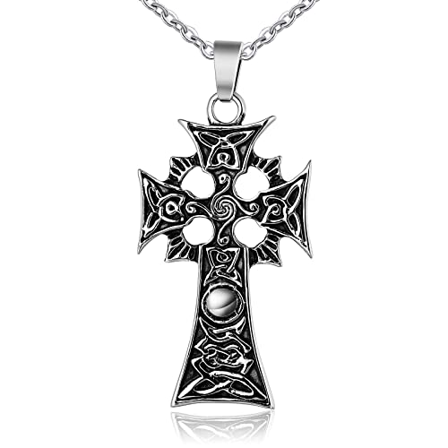 a21245b206ad ANAZOZ Stainless Steel Necklace for Men Pendant Necklace Gothic ...