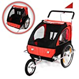 Samax 2-in-1 Bicycle Trailer and Jogger