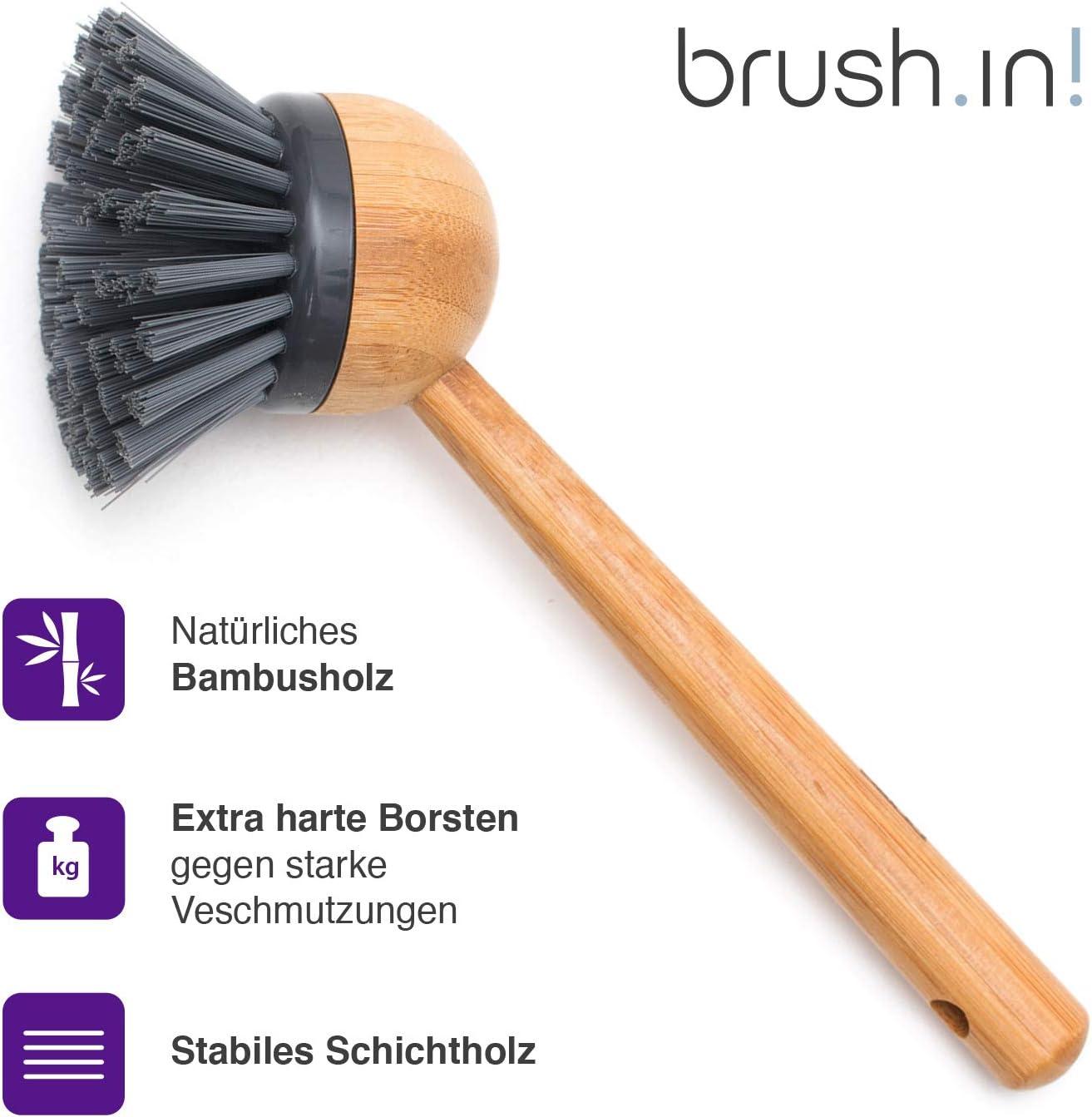 Küchenbürste Spülbürste Bürste Reinigungsbürste Geschirrbürste Topfbürste