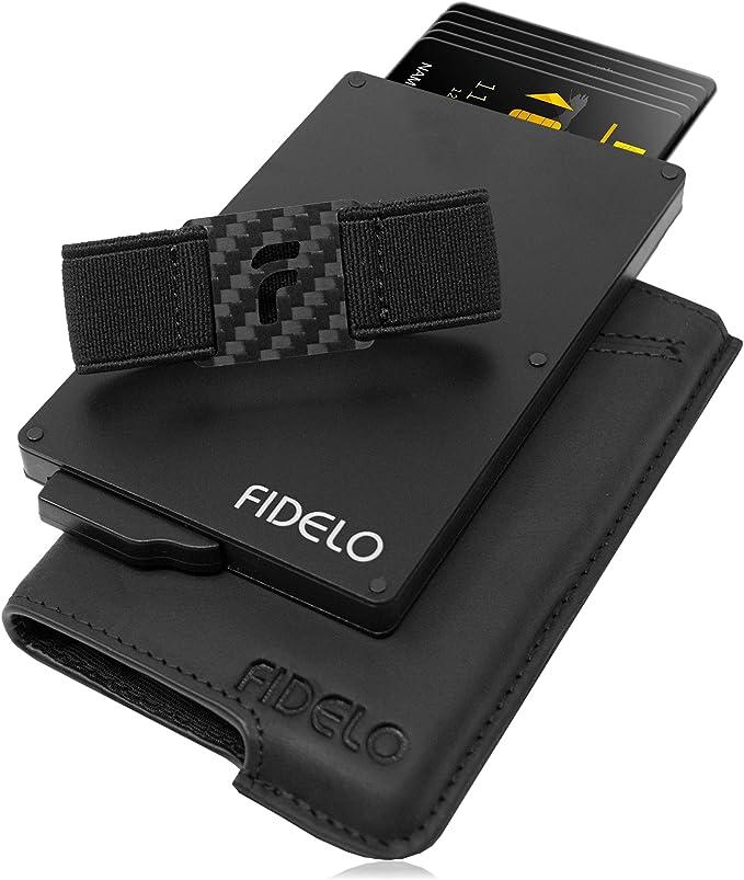 FIDELO Minimalist Wallets Card Wallet