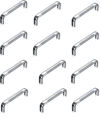 Nice A U0026 Y TRADERS OVAL D DRAWER OR CABINET HANDLES 4 INCH PACK OF (12