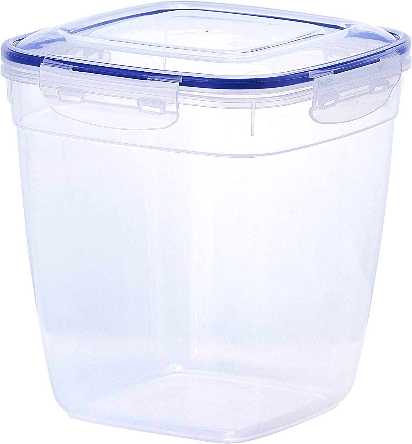 Superio Square Deep Sealed Container For Food (5 Qt.) Plastic Container With Lid Keeps Food Fresh, Perishable, Shelf Stable
