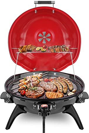 Techwood 15-serving Electric BBQ Grill