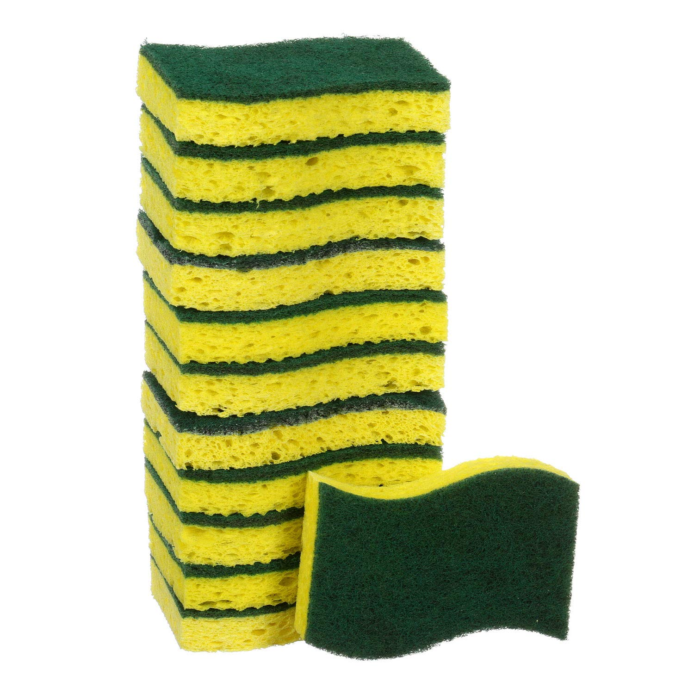 Scotch-Brite Non-Scratch Scrub Sponge,2 Pack,9 Count