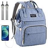 Diaper Bag Backpack, Mokaloo Large Baby Bag, Multi-functional Travel Back Pack, Waterproof Maternity Nappy Bag Changing…