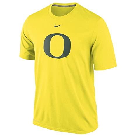 d1ec1fd0 Image Unavailable. Image not available for. Color: NIKE Oregon Ducks Dri-Fit  Logo Legend T-Shirt ...