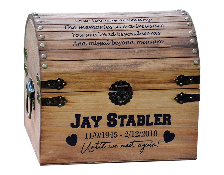 In Memory Box - Personalized Keepsake Box - Memorial Box - In Memory - Sympathy Gift - Memorial Gift Urn - Personalized Urn - In Memory Chest