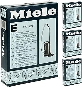 Miele S224 S225 tipo E bolsas de aspiradora Kit de filtro y (20 ...