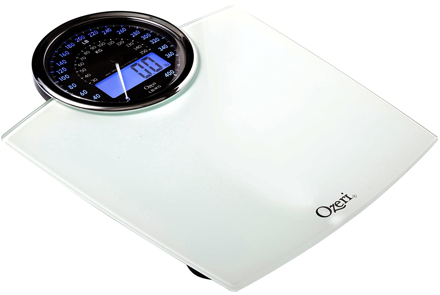 Retro bathroom scales - Amazon Com Ozeri Zb19 W Rev Digital Bathroom Scale With Electro Mechanical Weight Dial White Health Personal Care