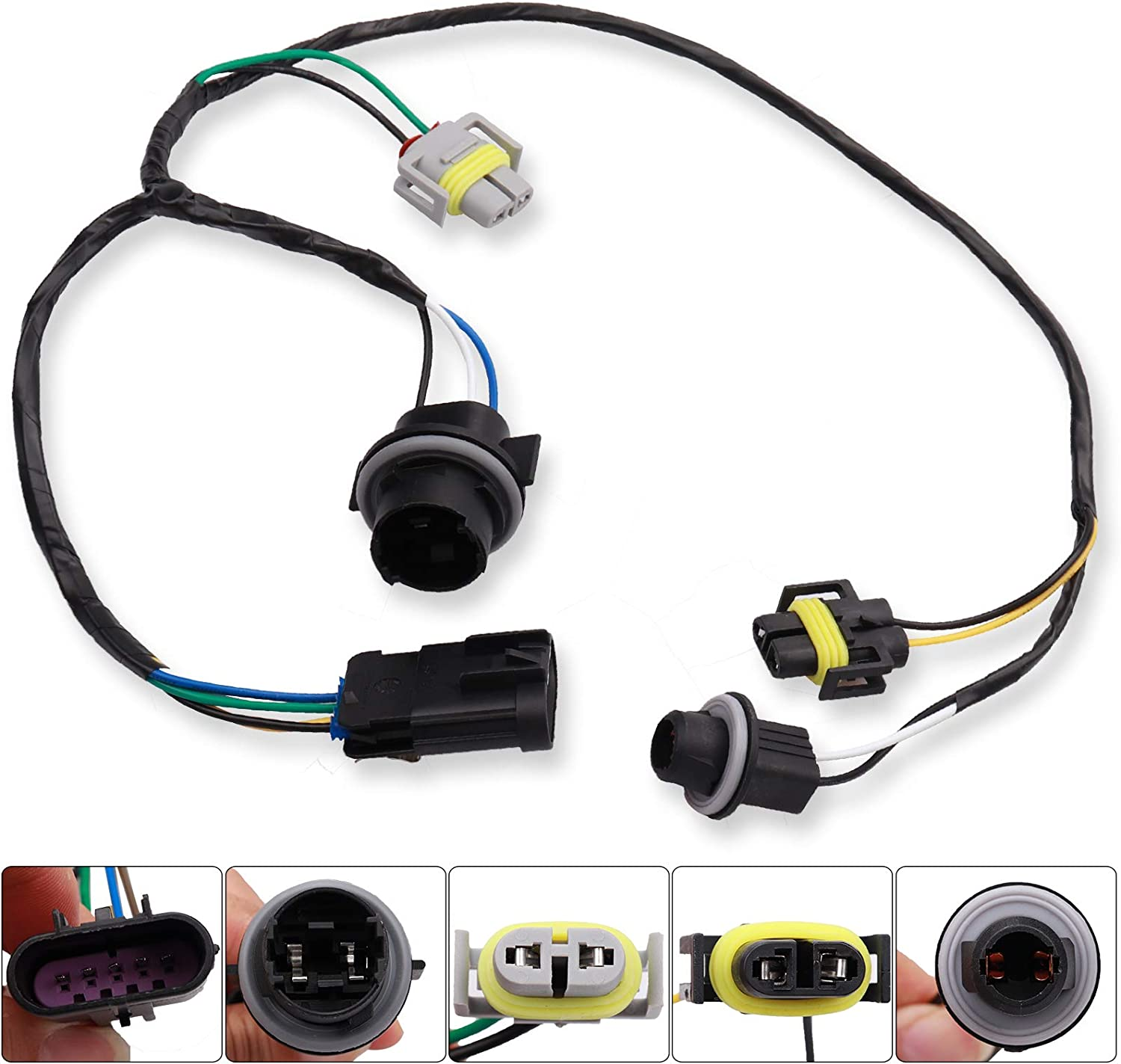 Amazon.com: 15930264 645-539 645539 Headlight Wiring Harness Connector  Compatible with 2008-2012 Chevy Malibu: Automotive   Chevrolet Malibu 2009 2012 20965912 Headlight Wiring Harness      Amazon