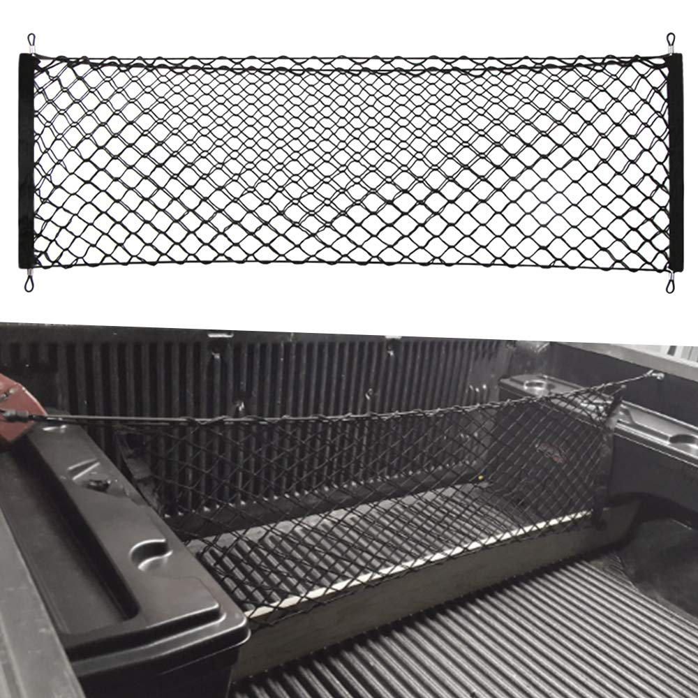 VCiiC Envelope Trunk Cargo Net for Dodge Ram 1500 VCOWDL5014059