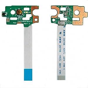 Todiys Power Button Switch Board for HP 14-N 15-F Series 14-N014NR 14-N248CA 15-F009WM 15-F019DX 15-F048CA 15-F085WM 15-F111DX 15-F199NR 15-F240CA 15-F271WM 15-F305DX 15-F337NR 15-F387WM DA0U83PB6E0
