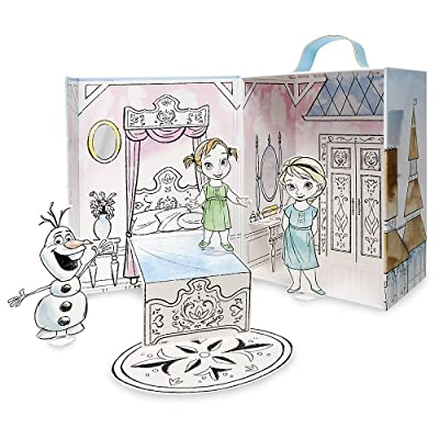 Disney Animators' Collection Frozen Paper Doll Set: Toys & Games