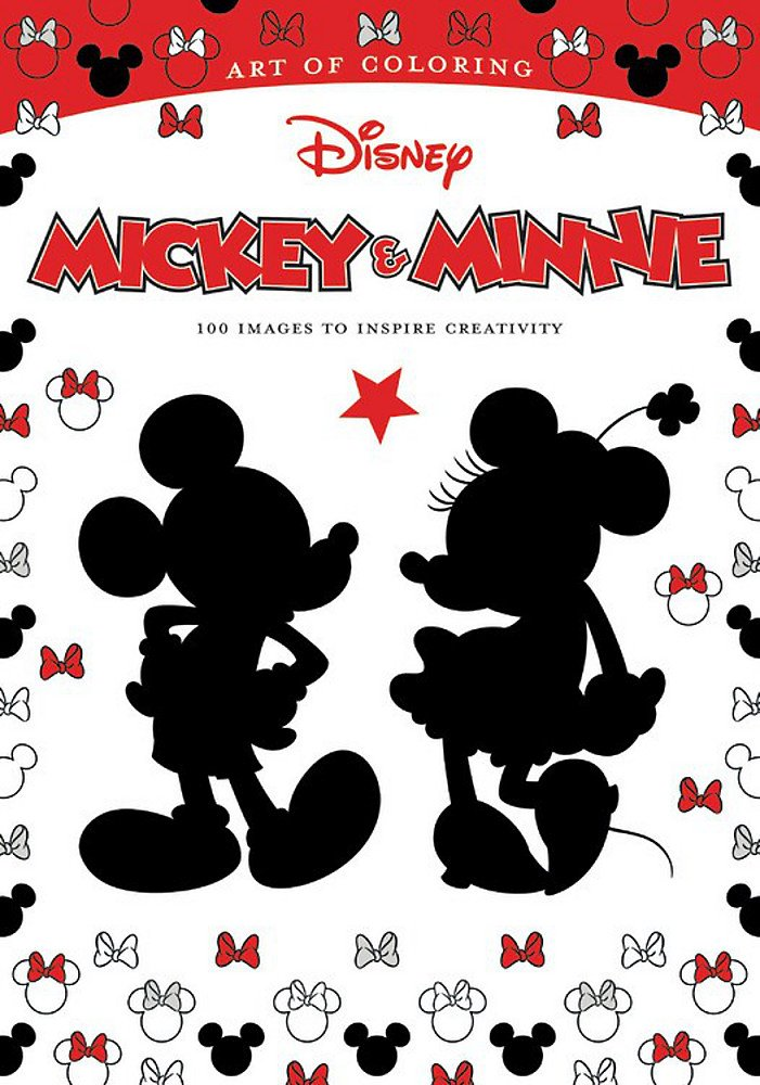 Amazon.com: Art Of Coloring: Mickey & Minnie: 100 Images To Inspire  Creativity (9781484789735): Disney Book Group, Disney Book Group: Books