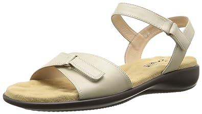 Walking Cradles Women's Sky 3 Wedge Sandal, 10 W US, Wheat Nappa