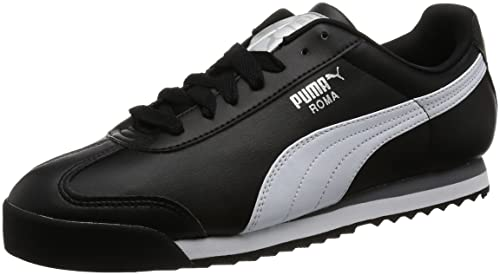 Puma Men s Roma Basic Leather Sneakers  Buy Online at Low Prices in ... b171e1981