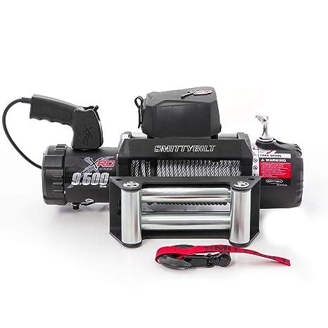 Smittybilt 9500 lb 97495 XRC GEN2 Winch-9500 Pound Load Capacity on