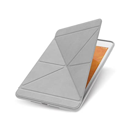 lowest price 4a67d 101a6 Moshi VersaCover Case for New 2019 iPad Mini, with Folding Cover, 3 Viewing  Angles, Auto Sleep/Wake, Magnetic Attachment - Stone Gray