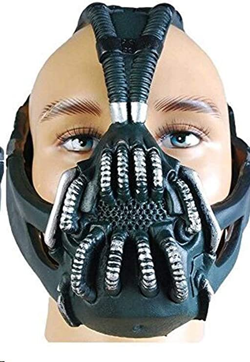 Amazon Com Batman The Dark Knight Rise Bane Mask Replica Helmet Clothing
