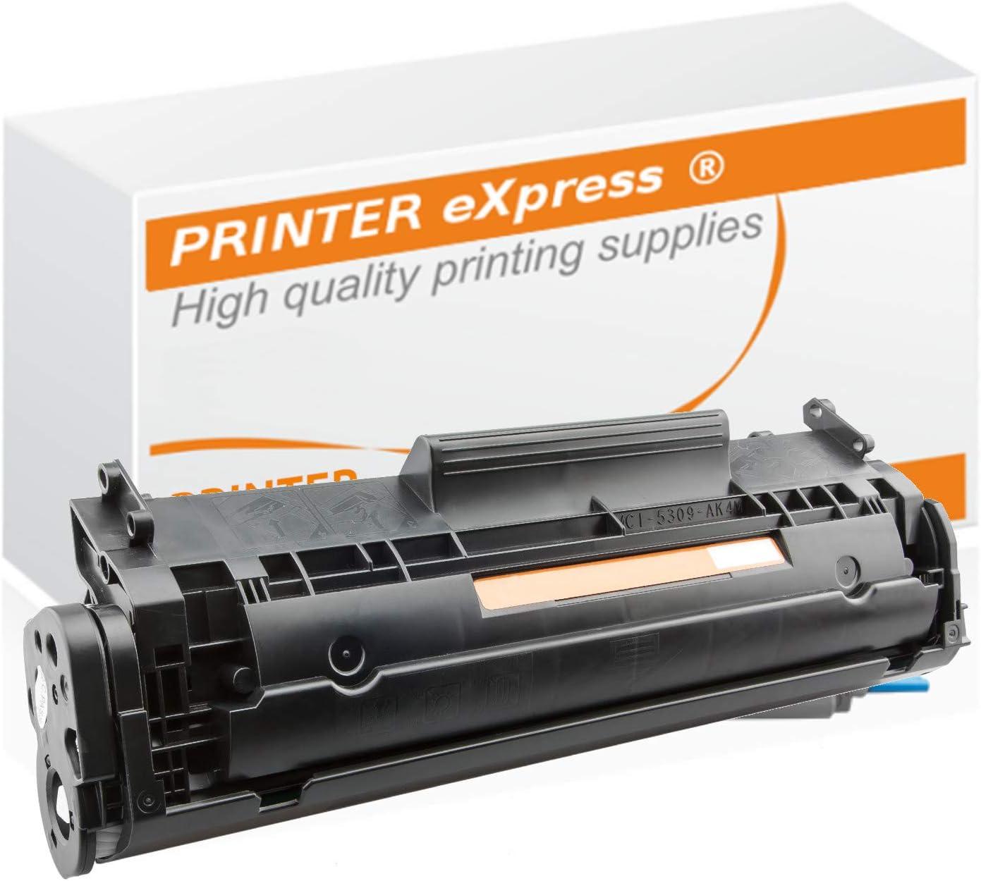 Printer Express Xxl 2 100 Seiten Toner Kompatibel Mit Hp Q2612a 12a Q2612x 12x 2612 Für Laserjet 1010 1012 1015 1018 1020 1022 3015 3020 3030 3050 3052 3055 Schwarz Bürobedarf Schreibwaren