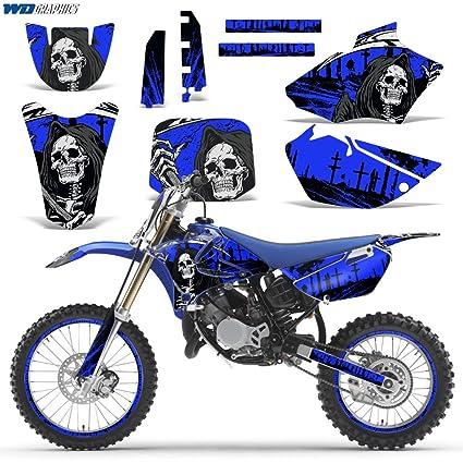 Amazon.com: Yamaha YZ 85 2002-2014 Decal Graphic kit for Dirt Bike ...