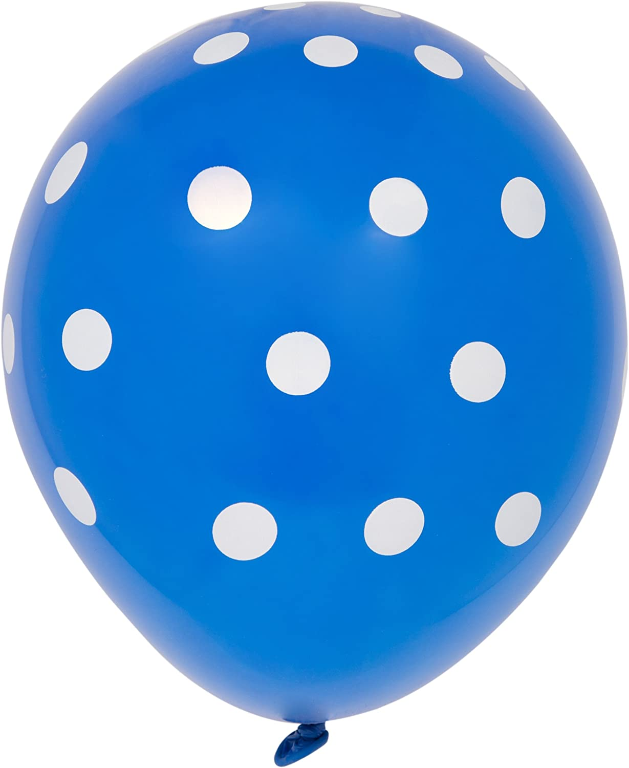 Wedding Room Decoration Other Occasion Polka Dot Balloons 100 Packs Latex Balloons 12 inch Colourful Spotty Balloons Easy to Inflatable Spot Balloons for Party Birthday Wedding Holiday Celebration