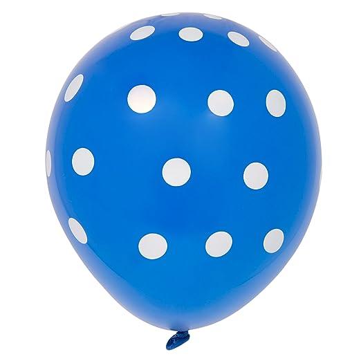 38 opinioni per Unique Party 57594 Lattice a Pois Blu Reale Palloncini, Confezione da 6