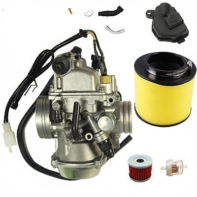 New TRX350 Carburetor for Honda Rancher 350 TRX350 350ES 350FE 350FMTE 350TM 2000-2006 Carb: Automotive