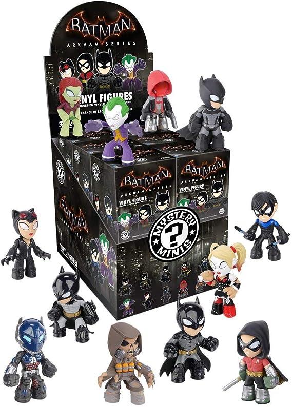 Batman Arkham Series Mystery Minis Vinyl Figure Display Case Set ...