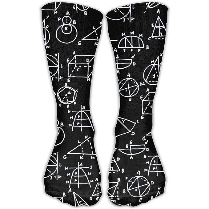 7bd636ddafa Amazon.com  TO-JP Science And Mathematics Unisex Crew Socks Short Sports  Socks.  Clothing