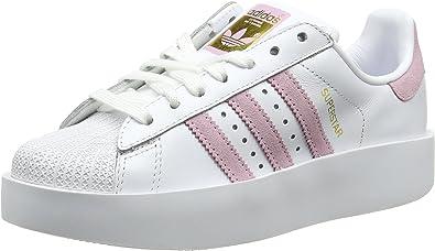 adidas Originals Superstar Bold Platform - Zapatillas deportivas para  mujer, color blanco