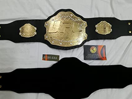 Nueva réplica UFC cinturón (Ultimate Fighting Champion) tamaño adulto con funda