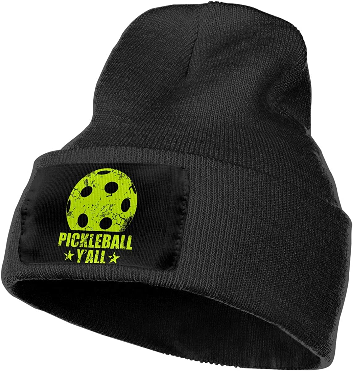 COLLJL-8 Men//Women Pickleball Yall Outdoor Fashion Knit Beanies Hat Soft Winter Knit Caps