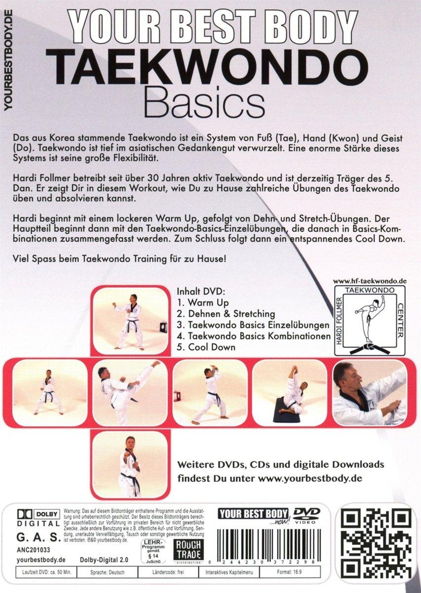Taekwondo Basics: Amazon.co.uk: DVD & Blu-ray