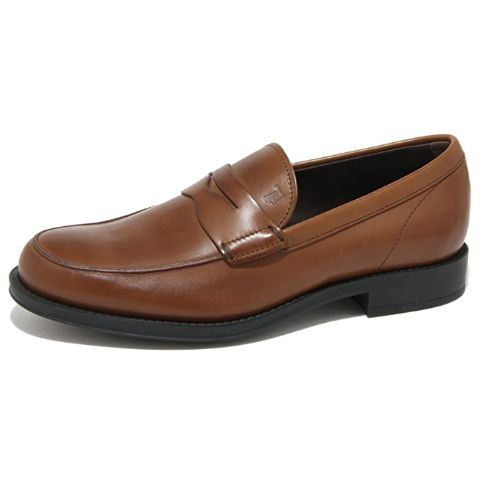 df7721919b9 Tod's 0510o Moccasin apos; Men s Classic Moccasin Brown Shoes Loafers Men  Brown Size: 8.5: Amazon.co.uk: Shoes & Bags