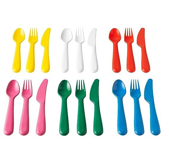 Amazon.com: Ikea 804.213.32 Kalas - Juego de 18 piezas sin ...