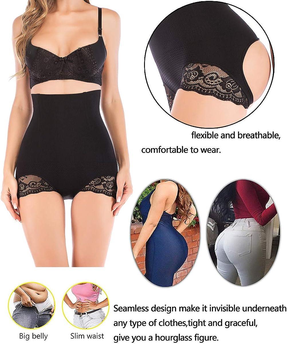 FUT Women High Waist Shapewear Trainer Tummy Control Thong Panty Underwear