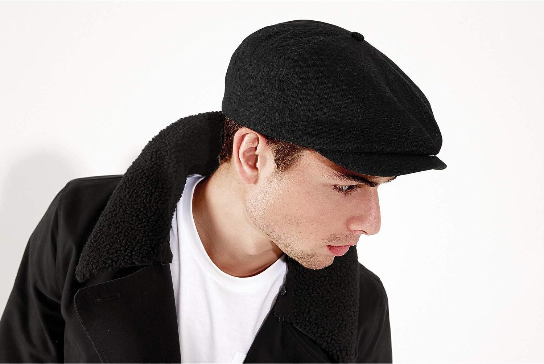 Beechfield - Gorra clásica modelo Newsboy para hombre: Amazon.es ...