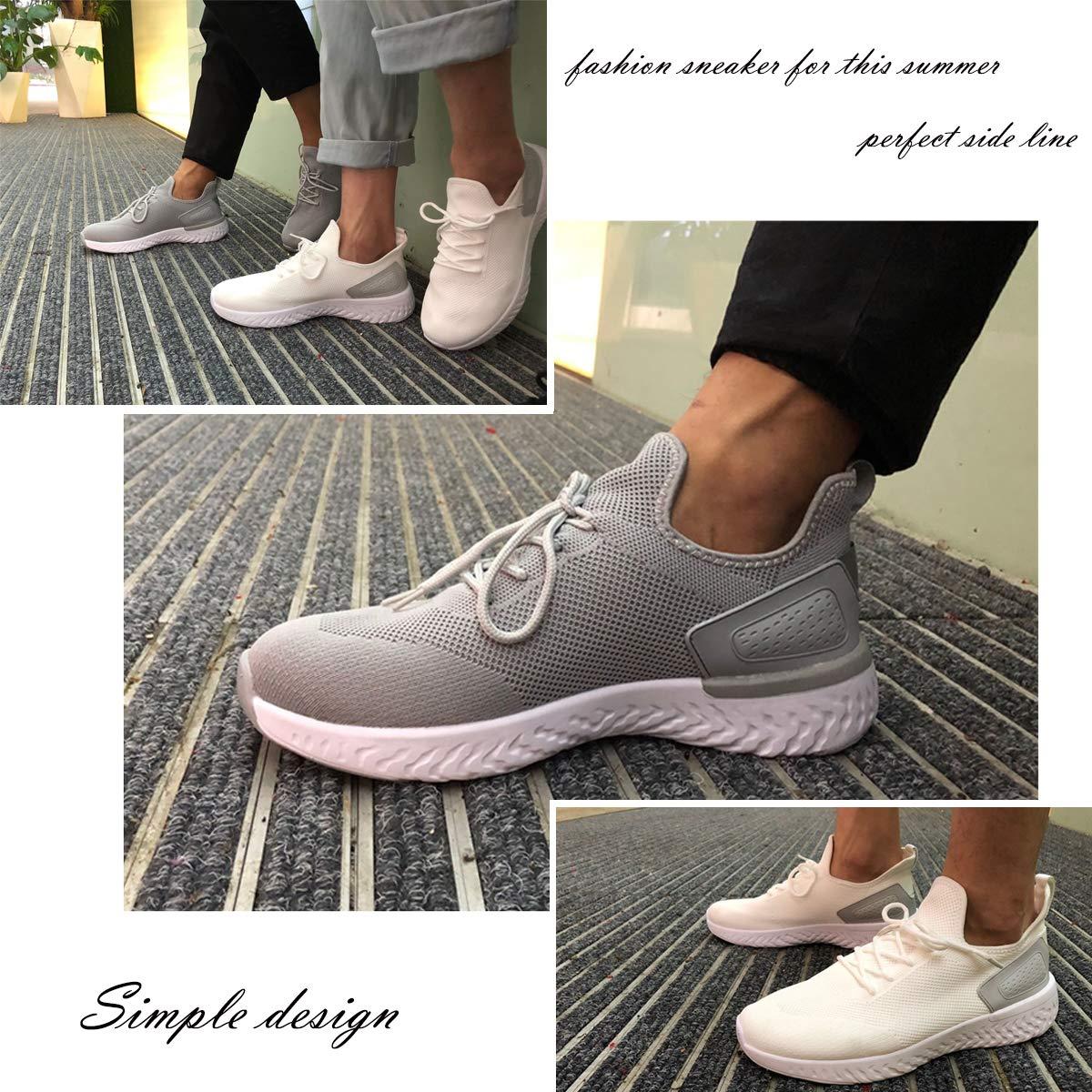 Velukin Zapatillas de Deporte Respirable para Correr Deportes Zapatos Running Hombre Zapatillas para Correr
