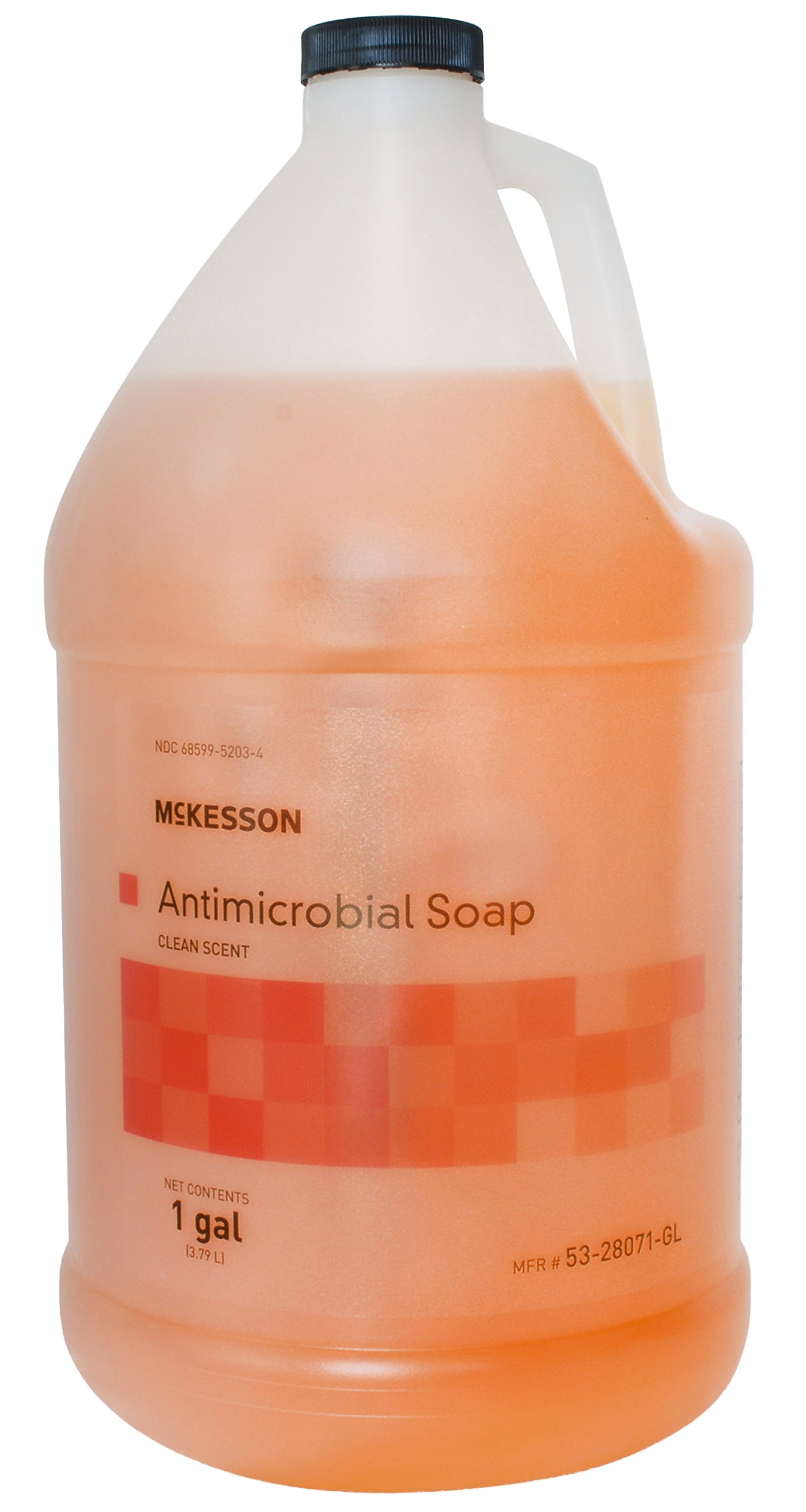 McKesson 53-28071-GL Clean Scent Antimicrobial Soap, 1 gal Bottle by McKesson