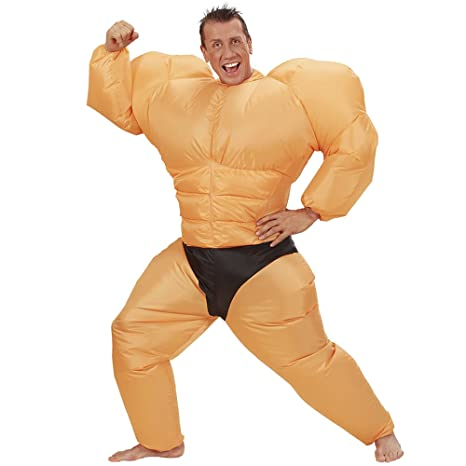 Le Persone Piu Muscolose Del Mondo.Costume Gonfiabile Culturista Muscoli Muscoloso Amazon It Giochi E
