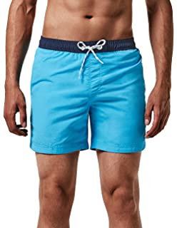 4e3e91337a MaaMgic Men's Swimming Trunks Quick Dry Fit Performance Surfing Short with  Pockets